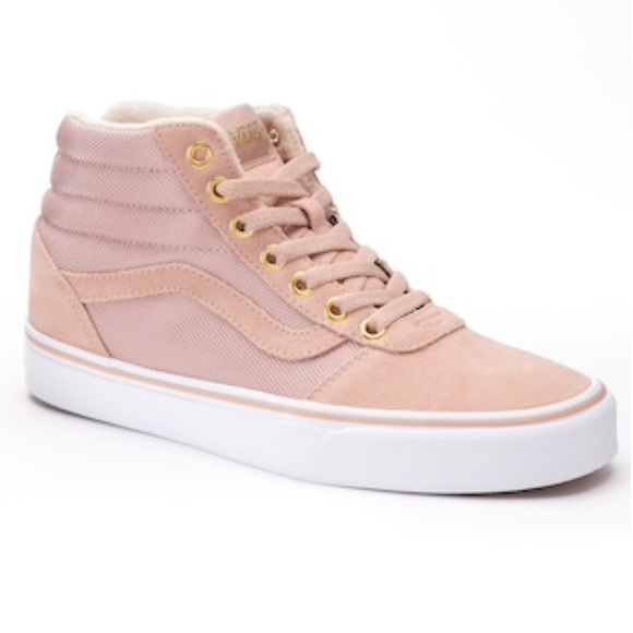 vans ward high suede